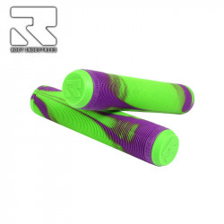 Дръжки / Грипове ROOT AIR GRIPS - GREEN/PURPLE