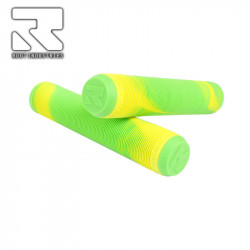 Дръжки / Грипове ROOT AIR GRIPS - GREEN/YELLOW