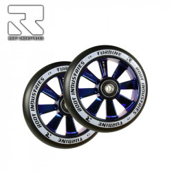 Колелца ROOT WHEELS TURBINE 110MM BLACK / BLU RAY