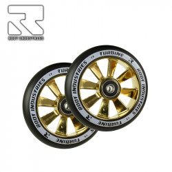 Колелца 110 mm ROOT WHEELS TURBINE BLACK / BLU RAY