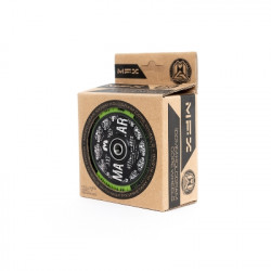 Колелца MGP Wheel 2 x Hollow Plastic Core including bearings 100 mm,  black/green