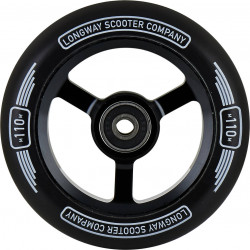 Колело 110 mm Longway Metro Pro Scooter Wheel Black