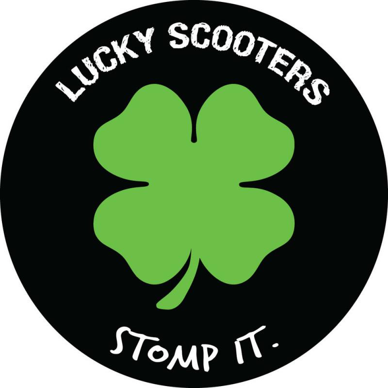 Стикер Lucky Stomp It Sticker